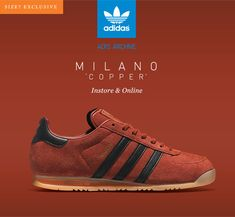 Adidas milano copper. At SIZE