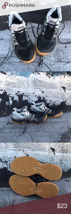 Asics Black & Silver Sneakers Regular wear Asics Shoes Sneakers