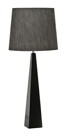 Ascent Table Lamp Black