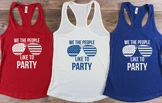 Graphic Tee / of July Tank Top / America Shirt / Patriotic Shirt / Red White and Blue/ Merica Tank top / Stars and Stripes / Bachelorette Party Tank Top / Summer Tank Tops / Summer BBQ / Fourth Of July Shirts, 4th Of July Outfits, Patriotic Shirts, July 4th, Patriotic Crafts, Patriotic Party, July Crafts, Vinyl Shirts, Cool Shirts