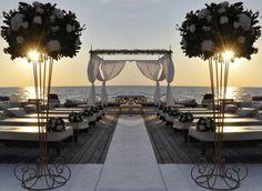 Ammot Cafè. Matrimoni in spiaggia. Wedding ceremony on the sea.