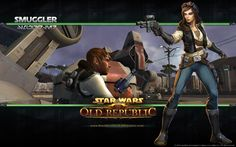 I'm finally playing my Smuggler in SWTOR! My goal is to make her my second level 50 character by the end of summer :)