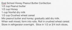 Ezel School Honey Peanut Butter Confection