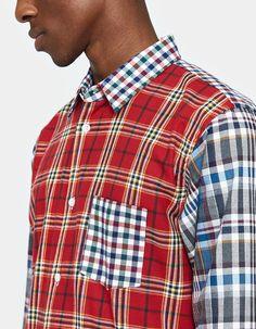 Comme des Garçons Shirt / Cotton Check x Cotton Tartan Check Shirt Tartan, Plaid, Human Nature, Check Shirt, Men Casual, Mens Tops, Cotton, Clothes, Fashion