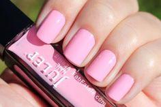 Unhas pink pastel para as fofuras românticas!