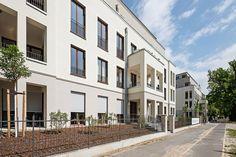 """Neubau von Eigentumswohnungen im Neubauprojekt """"Charlotte und Luise"""" in Potsdam-Berliner Vorstadt. Foto: formart GmbH & Co. KG Berlin"""