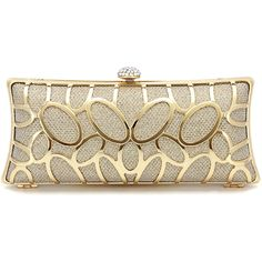Yoins Diamante Clutch Bag in Gold Sequin (41 CAD) ❤ liked on Polyvore featuring bags, handbags, clutches, bolsas, purses, gold, sequin handbags, gold handbags, gold clutches and gold purse