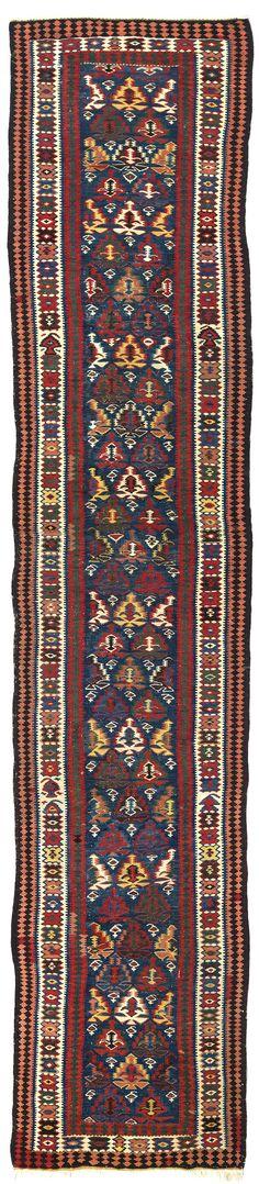 Shahsavan Kelim       19. Jahrhundert    490 x 90 cm  I Teppiche und Textilien Max Lerch