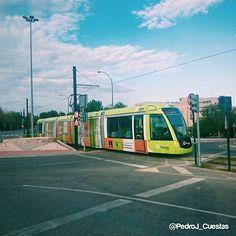#tranvia @tranviademurcia en @umnoticias.  #Murcia #Spain #Summer #walk #tram