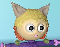 """Check out new work on my @Behance portfolio: """"Kitty"""" http://be.net/gallery/59528245/Kitty"""