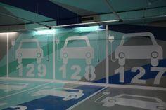 Un atelier en el sótano: ¡Los aparcamientos también pueden ser bonitos!