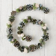 Forest Pinecone Garland