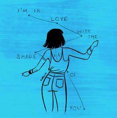 Ed Sheeran / Shape of you / Lyrics / Divide