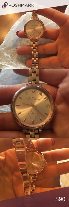 Marc by Jacobs watch Marc Jacobs watch rose  NWOT Marc By Marc Jacobs Accessories Watches