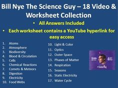 1000+ images about Bill Nye the Science Guy! on Pinterest | Bill nye ...