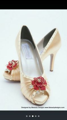 Beauty and the beast inspires shoes