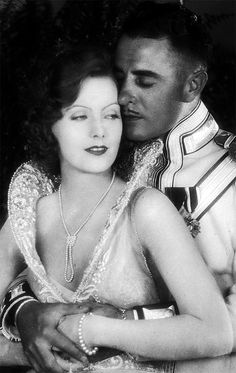 Greta Gabo and John Gilbert