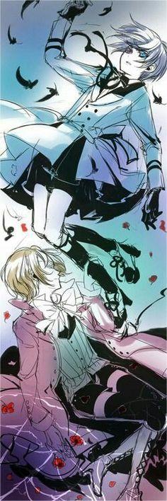 Black butler, Kuroshitsuji, Ciel Phantomhive, Alois Trancy