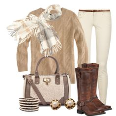 A fashion look from November 2012 featuring J.Crew, mother jeans and Durango. Browse and shop related looks.