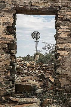 Renewable Energy For Your Home Can Save You Money. Photo by Kai Lehmann In this age, the threats of climate change and pollution is continually increasing. Agra, Farm Windmill, Old Windmills, Wind Of Change, Country Scenes, Water Tower, Old Farm, Le Moulin, Renewable Energy