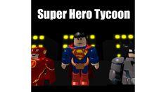 (HulkBuster!) Super Hero Tycoon! - ROBLOX