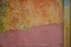 Plaster wall in Sicily.
