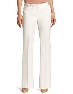 Jones New York Women`s Petite Bootleg Pant With Charmeuse Detail $99.00