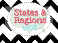 States & Regions Unit. Great for teaching the 5 different regions of the United States http://katielately1.blogspot.com/2013/10/state-float-project.html  Regions, States, US, Social Studies