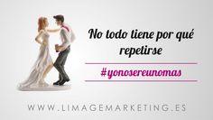 Imagen para eventos · No todo tiene por qué repetirse.  #sevilladeboda #yonosereunomas #sevilladeboda2014 http://www.limagemarketing.es/servicios/ L'image Marketing | Agencia de Publicidad y Comunicación en Sevilla
