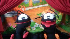 Teatro de Fantoches Gospel Smilinguido. Tio Pan tradicional em SP capital desde 1981. Ligue 11 99807 0605
