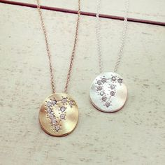 Hand Made Constellation Zodiac Sign Necklace - women's jewellery