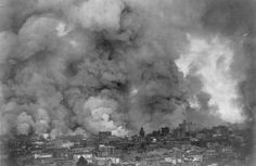 The Great San Francisco Earthquake: Photographs From 110 Years Ago San Francisco in flames, April 18,1906. - Library of Congress