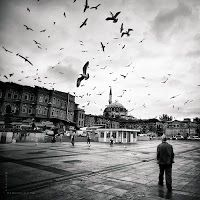 İstanbul'da siyah beyaz anlar... Turkey - Spectacular Places