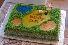 Country Cupboard Cakes: Golf Cake