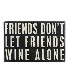 Wine Alone