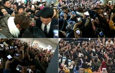 cool Lee Min Ho Helps A Fallen Fan Stand Up In Shanghai Airport
