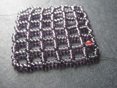 "Square right angle weave as a ""method"" beyond the stitch.  ~ Seed Bead Tutorials"