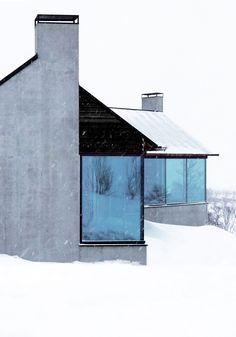 Cabin Nerskogen  Work by VARDEHAUGEN / www.vardehaugen.no www.instagram.com/vardehaugen_arkitekter/