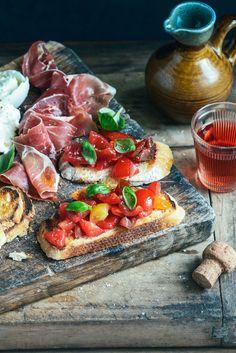 From The Kitchen: Classic Italian-style Tomato Bruschetta