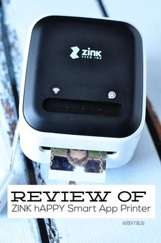 ZINK hAppy Smart App Printer review from www.thirtyhandmadedays.com