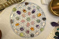 Crystal Grid for Peace, Love & Harmony