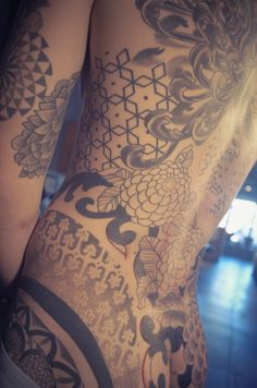 visualamor:  Back piece in progress by Gemma Pariente at Full...