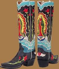 boots~Nuestra Señora de Guadalupe