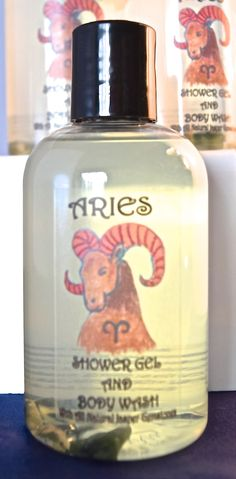 ARIES Shower Gel / Body Wash With All by LovingYouOilsAndMore