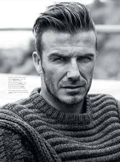 David Beckham. Hair.