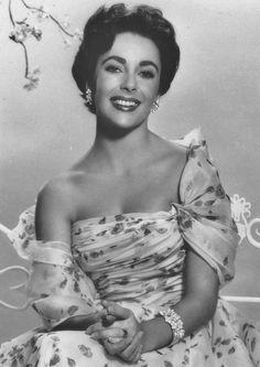 """gatabella: """" Elizabeth Taylor, 1950s """"                              …"""