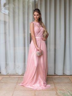 vestido madrinha rosa claro - Pesquisa Google