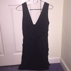Black Dress Black semi formal dress worn a few times but still in great condition Sabo Skirt Dresses Mini