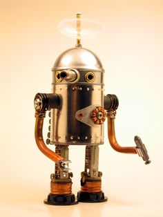 Dark Roasted Blend: Robots in Arts
