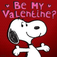 Tomorrow is Valentine's Day Snoopy!